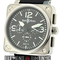 Bell & Ross Aviation Chronograph Stainless Steel Ref. BR...