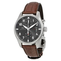 IWC [NEW] Spitfire Chronograph Slate Grey Dial IW387802