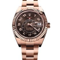 Rolex SKY DWELLER ROSE GOLD CHOCO