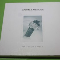 Baume & Mercier vintage warranry card and booklet hampton...