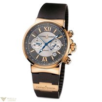 Ulysse Nardin Maxi Marine Chronograph 18k Rose Gold Men's...