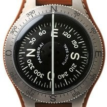 Panerai Special Edition 2004 Black Seal Brown Leather Strap...