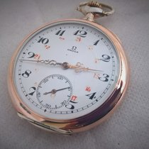 """Omega rare cal """"C"""" silver, serviced and in good..."""