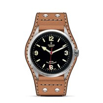 Tudor HERITAGE RANGER Black Dial Brown Leather Automatic 79910