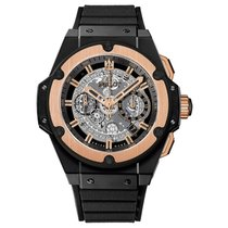 Hublot King Power Unico 48mm Automatic Ceramic Mens Watch Ref...