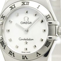 Omega Polished Omega Constellation My Choice Mop Dial Ladies...