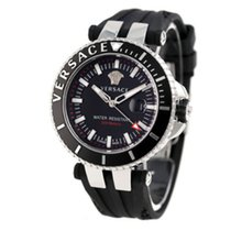 Versace V-RACE DIVER Silicone Black