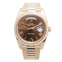 Rolex Day-date 18k Rose Gold Brown Automatic 228235BRRN