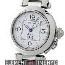 Cartier Pasha Collection Pasha C Stainless Steel 35mm White...