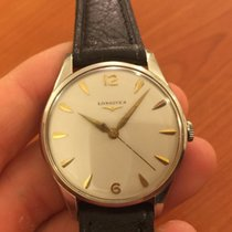 Longines manuale manual 34 mm vintage solo tempo