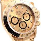 Rolex 18K Gold Daytona Factory Diamond Dial Zenith Movement