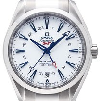 Omega Seamaster Aqua Terra 150m Master Co-Axial GMT Good Planet