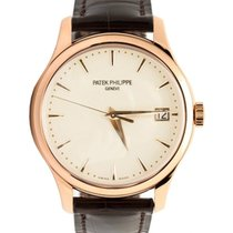 Patek Philippe 5227R-001 Calatrava 39mm Ivory Index Date Rose...