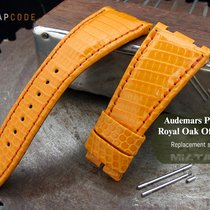 Audemars Piguet Royal Oak Offshore Leather Band, Orange Lizard