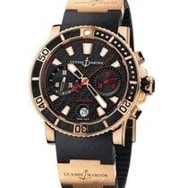 Ulysse Nardin Maxi Marine Diver Chronograph in Rose Gold