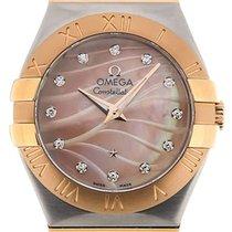 Omega Constellation 27 Quartz Pink Dial
