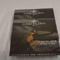 百年靈 (Breitling) Katalog Catalogue Für Breitling Uhren 2002 Mit...