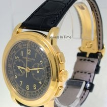 Patek Philippe 5070 18K Yellow Gold Chronograph Mens Watch...