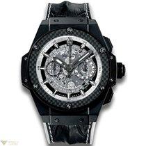 Hublot King Power Unico Black and White Ceramic Men`s Watch