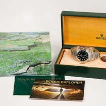 Rolex NICE Rolex Stainless Steel Explorer I w/ Box and Books