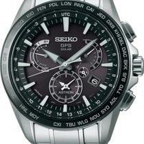 Seiko Astron SSE077J1 Elegante Herrenuhr GPS Empfang f....
