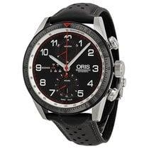 Oris Calobra Limited Edition Automatic Chronograph Black Dial...