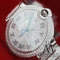 Cartier Large Cartier Ballon Bleu De Cartier Diamond Pave Dial...