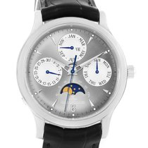 Jaeger-LeCoultre Master Quantieme Perpetual White Gold Watch...