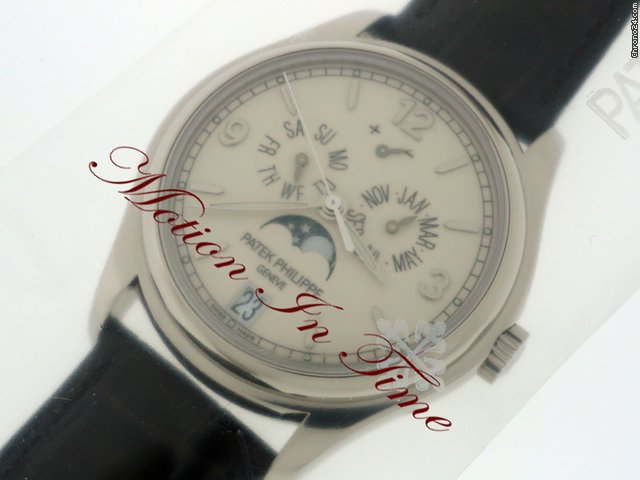 Patek Philippe 5146g ANNUAL CALENDAR WHITE GOLD MOONPHASE POWER RESERVE NEW