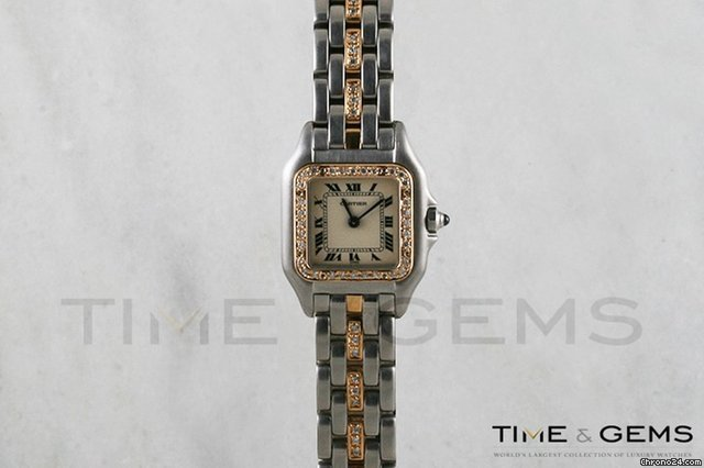 Cartier Panthere 18k Yellow Gold &amp;amp; Steel Watch