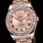 Rolex Rose Gold Day-Date II 41mm 218235