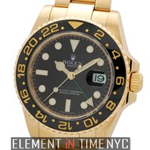 Rolex GMT-Master II Ceramic 18k Yellow Gold Black Dial Ref....
