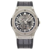Hublot Classic Fusion Ultra-thin skeleton titanium 45 mm