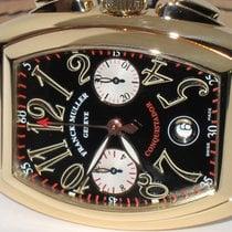Franck Muller Conquistador Chronograph 18K Solid Gold