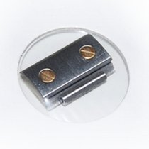 Cartier Santos Stahl/Gold Glied, 13,5 mm