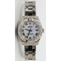 Rolex Masterpiece 81319 Mid-Size 18K White Gold w/Factory...