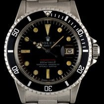 Rolex S/S Red Writing Meters First Mark II Tropical Dial Sub...
