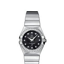 Omega Ladies 12315276051002 Constellation Polished Watch