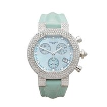 Chaumet Style Diamonds 18k White Gold Ladies