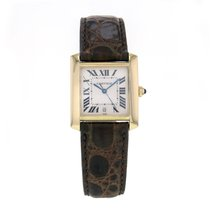 Cartier Tank Francaise Yellow Gold Automatic Silver Dial...