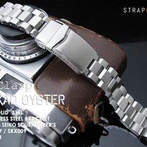 MiLTAT Hexad Oyster Bracelet for Seiko SKX007, V-Clasp