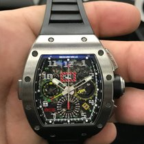 Richard Mille RM 011-02 CHRONOGRAPH TITANIUM GMT Flyback...