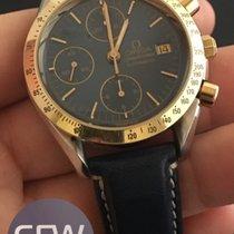 Omega Speedmaster Automatic gold bezel
