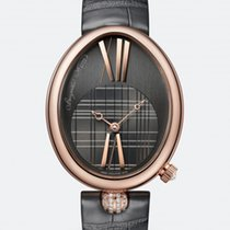 Breguet REINE DE NAPLES 8968, 18k Rose gold, Strap.