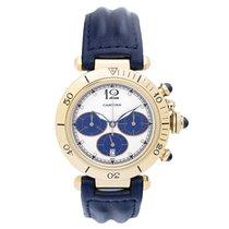 Cartier Pasha De Cartier 18K Yellow Gold Chronograph Watch