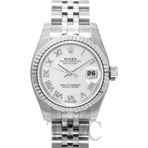 Rolex Lady Oyster Perpetual White/Steel Ø26 mm - 179174