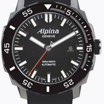 Alpina Adventure Divers Automatic Black Rubber Strap Al-525lb4v6