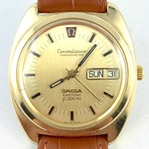 Omega Constellation F300 Chronometer 80 Mikron vergoldet