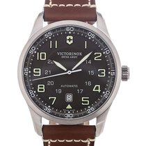 Victorinox Swiss Army Airboss 42 Chronograph Brown Strap