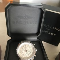Breitling Bentley Motors 48mm Stainless A25362 Chronograph Box...